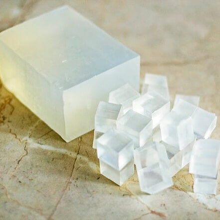 receta jabón base de glicerina