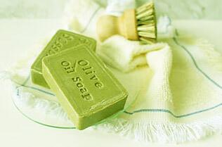 sello en jabón