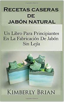 libro recetas caseras de jabón natural